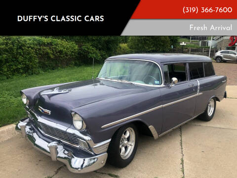 1956 Chevrolet Handy Man 150 Custom for sale at Duffy's Classic Cars in Cedar Rapids IA