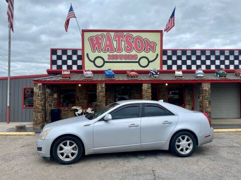 2009 Cadillac CTS for sale at Watson Motors in Poteau OK