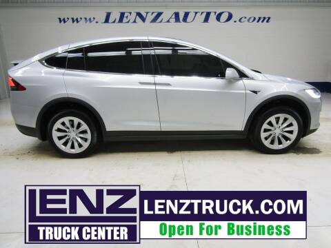 2018 Tesla Model X for sale at LENZ TRUCK CENTER in Fond Du Lac WI