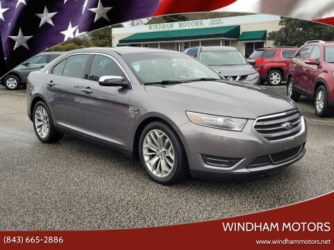 2013 Ford Taurus for sale at Windham Motors in Florence SC
