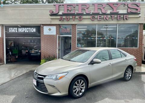 2016 Toyota Camry for sale at JERRY'S AUTO CENTER in Bellmore NY
