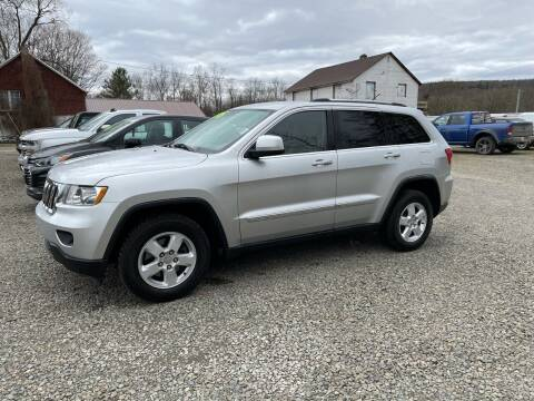 2011 Jeep Grand Cherokee for sale at Brush & Palette Auto in Candor NY