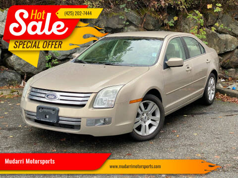 2008 Ford Fusion for sale at Mudarri Motorsports in Kirkland WA