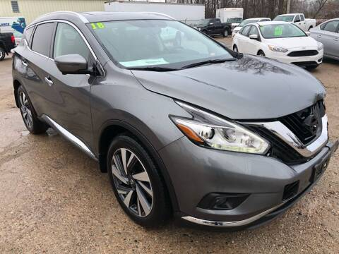 2018 Nissan Murano for sale at SUNSET CURVE AUTO PARTS INC in Weyauwega WI