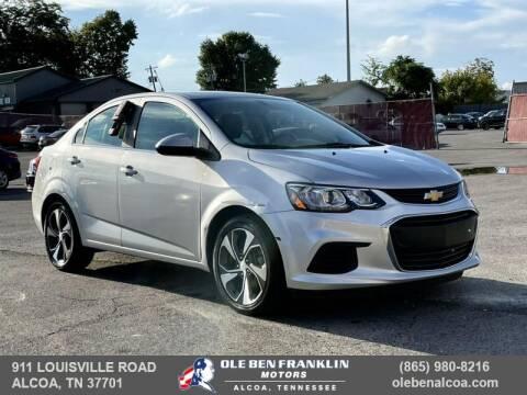 2019 Chevrolet Sonic for sale at Ole Ben Franklin Motors-Mitsubishi of Alcoa in Alcoa TN