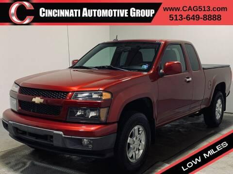 2011 Chevrolet Colorado for sale at Cincinnati Automotive Group in Lebanon OH