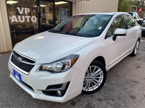 2015 Subaru Impreza for sale at VP Auto in Greenville SC