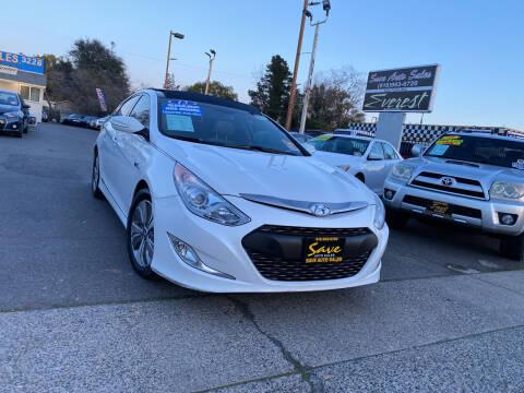 2013 Hyundai Sonata Hybrid for sale at Save Auto Sales in Sacramento CA