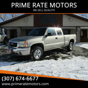 2003 GMC Sierra 2500 for sale at PRIME RATE MOTORS in Sheridan WY