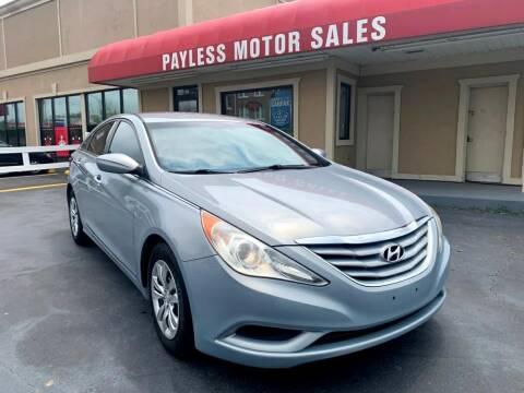 2011 Hyundai Sonata for sale at Payless Motor Sales LLC in Burlington NC