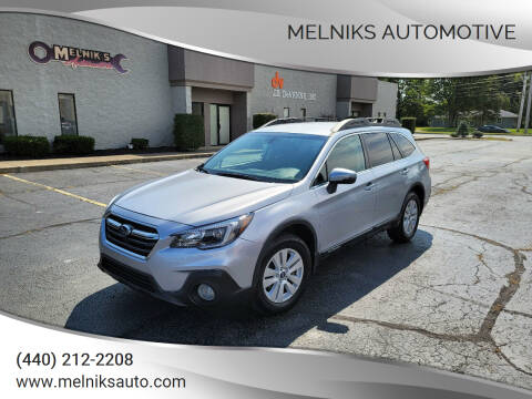 2019 Subaru Outback for sale at Melniks Automotive in Berea OH