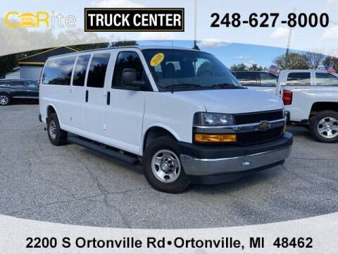 2018 Chevrolet Express Passenger for sale at Carite Truck Center in Ortonville MI