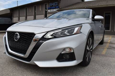 2019 Nissan Altima for sale at IMD Motors in Richardson TX