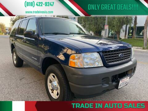 2004 Ford Explorer for sale at Trade In Auto Sales in Van Nuys CA