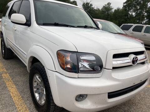 2006 Toyota Sequoia for sale at Peppard Autoplex in Nacogdoches TX