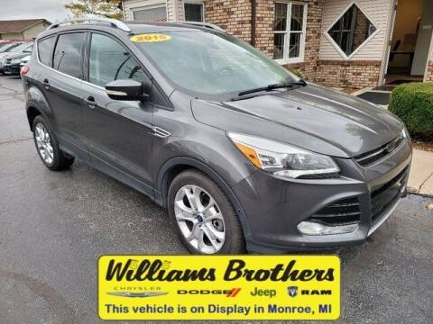 2015 Ford Escape for sale at Williams Brothers - Pre-Owned Monroe in Monroe MI