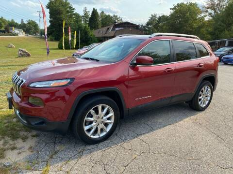 2015 Jeep Cherokee for sale at Downeast Auto Inc in South Waterboro ME