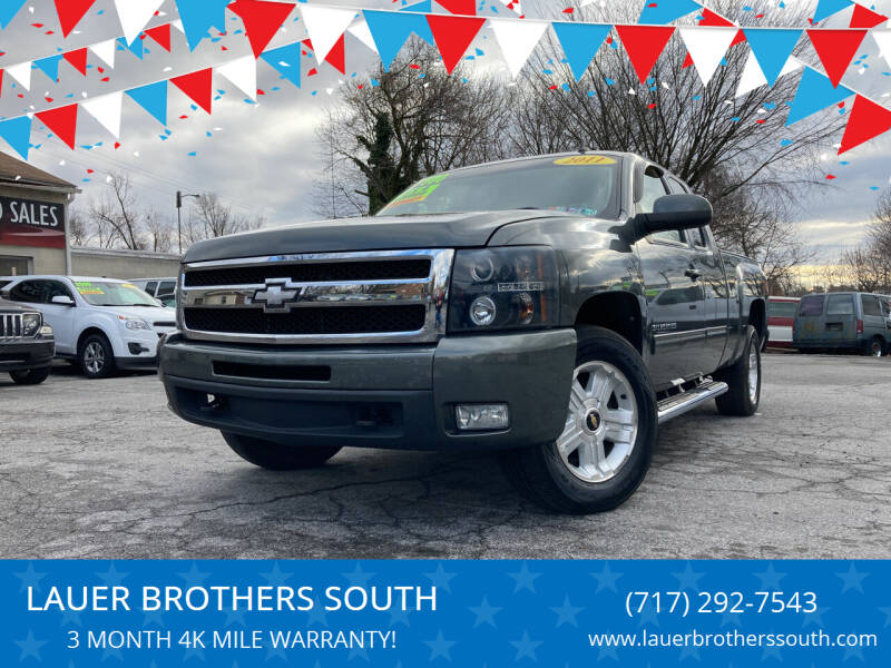2011 Chevrolet Silverado 1500 for sale at LAUER BROTHERS SOUTH in York PA