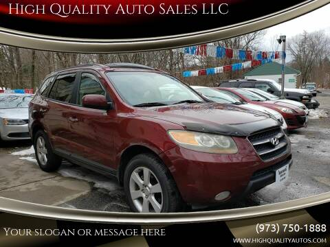 2007 Hyundai Santa Fe for sale at High Quality Auto Sales LLC in Bloomingdale NJ
