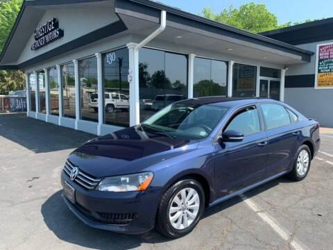 2013 Volkswagen Passat for sale at Prestige Pre - Owned Motors in New Windsor NY