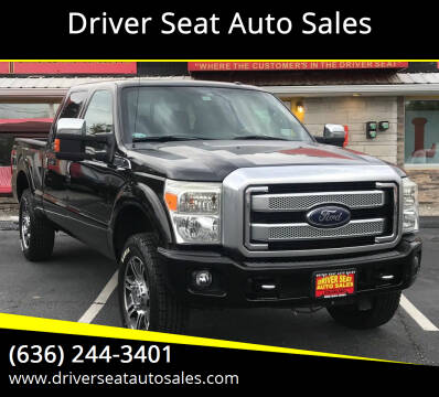 2013 Ford F-250 Super Duty for sale at Driver Seat Auto Sales in St. Charles MO