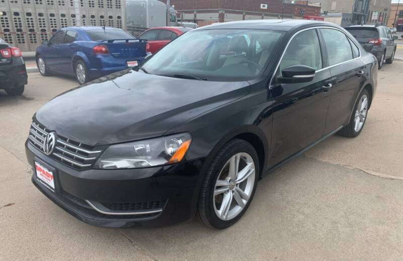 2015 Volkswagen Passat for sale at Spady Used Cars in Holdrege NE