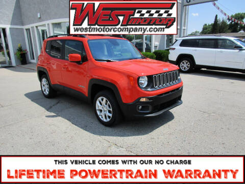 2017 Jeep Renegade for sale at West Motor Company in Preston ID
