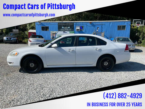2010 Chevrolet Impala for sale at Compact Cars of Pittsburgh in Pittsburgh PA