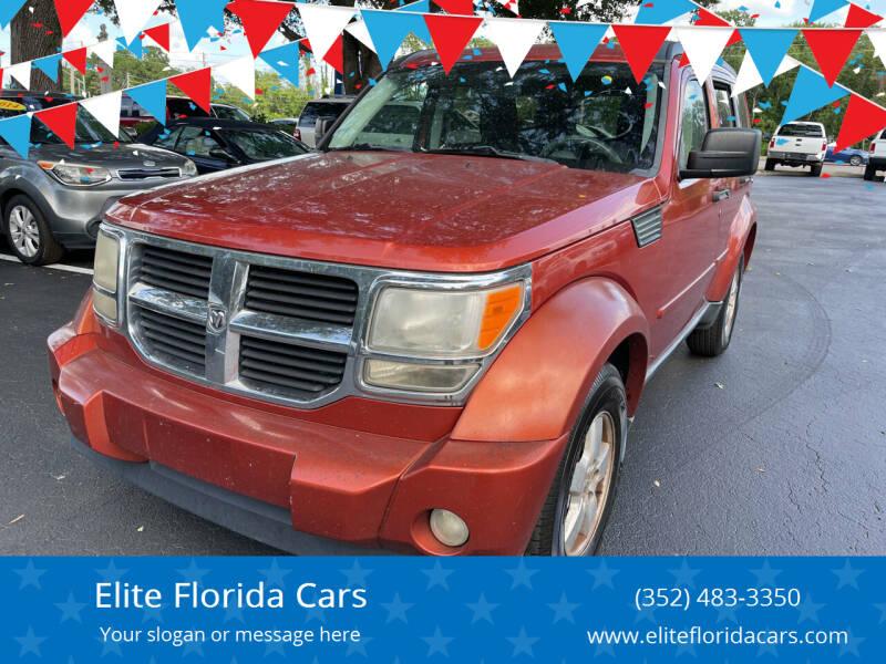 2009 Dodge Nitro for sale at Elite Florida Cars in Tavares FL
