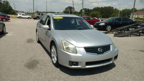 2007 Nissan Maxima for sale at Kelly & Kelly Supermarket of Cars in Fayetteville NC