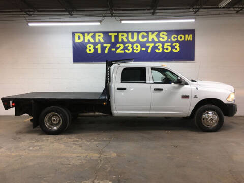 2012 RAM Ram Chassis 3500 for sale at DKR Trucks in Arlington TX
