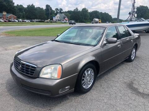 2003 Cadillac DeVille for sale at CVC AUTO SALES in Durham NC