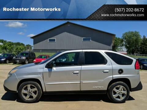 2005 Pontiac Aztek for sale at Rochester Motorworks in Rochester MN