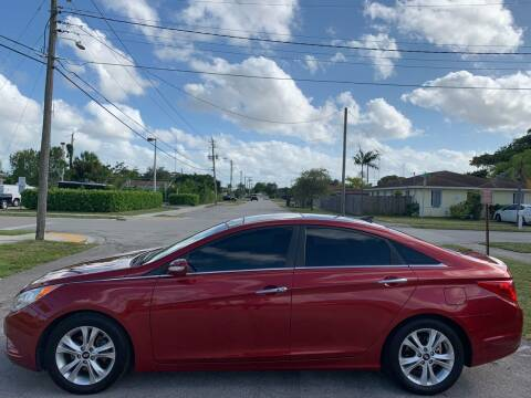 2013 Hyundai Sonata for sale at Eden Cars Inc in Hollywood FL