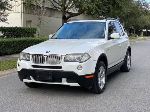 2007 BMW X3 for sale at Presidents Cars LLC in Orlando FL