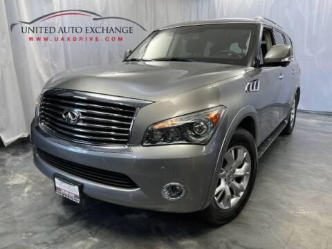 2011 Infiniti QX56 for sale at United Auto Exchange in Addison IL