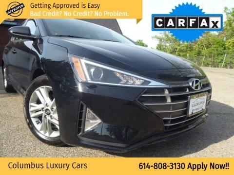 2020 Hyundai Elantra for sale at Columbus Luxury Cars in Columbus OH