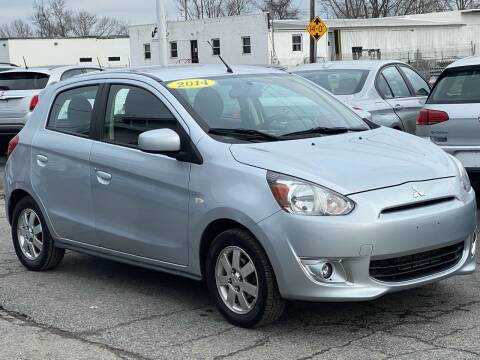 2014 Mitsubishi Mirage for sale at MetroWest Auto Sales in Worcester MA