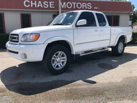 2003 Toyota Tundra for sale at Chase Motors Inc in Stafford TX