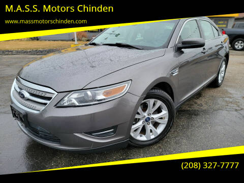2012 Ford Taurus for sale at M.A.S.S. Motors - West Fairview in Boise ID