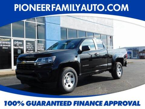 2021 Chevrolet Colorado for sale at Pioneer Family auto in Marietta OH