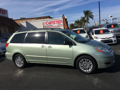 2008 Toyota Sienna for sale at CARSTER in Huntington Beach CA