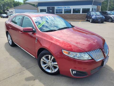 2009 Lincoln MKS for sale at Liberty Car Company in Waterloo IA