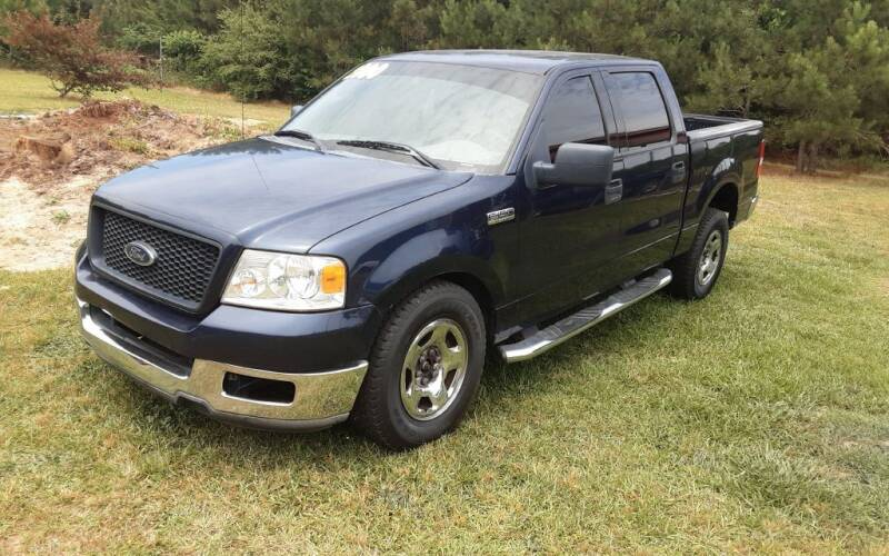 2004 Ford F-150 for sale at Mathews Used Cars, Inc. in Crawford GA