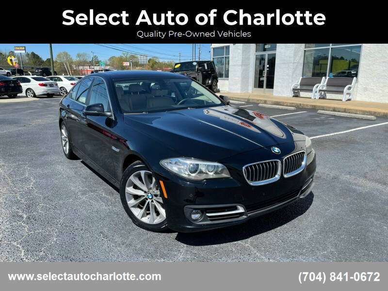 2016 BMW 5 Series for sale at Select Auto of Charlotte in Matthews NC