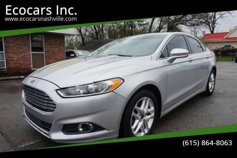2015 Ford Fusion for sale at Ecocars Inc. in Nashville TN