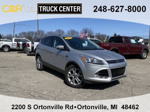 2016 Ford Escape for sale at Carite Truck Center in Ortonville MI