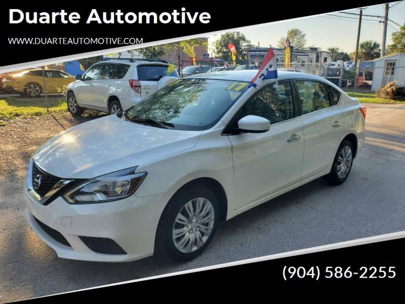 2017 Nissan Sentra for sale at Duarte Automotive in Jacksonville FL