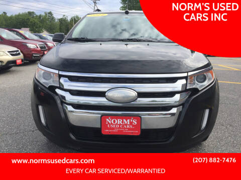 2014 Ford Edge for sale at NORM'S USED CARS INC in Wiscasset ME