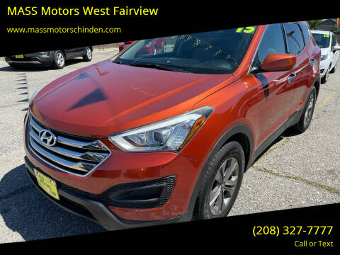 2015 Hyundai Santa Fe Sport for sale at MASS Motors West Fairview in Boise ID